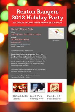 Renton Rangers 2012 Holiday Party