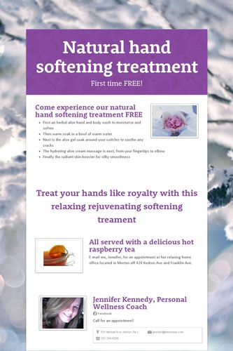 Natural hand softening treatment