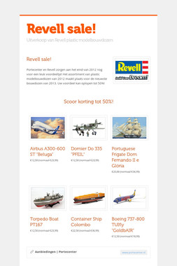 Revell sale!