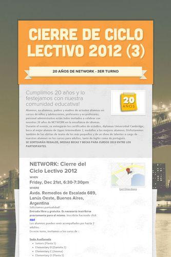 Cierre de Ciclo Lectivo 2012 (3)