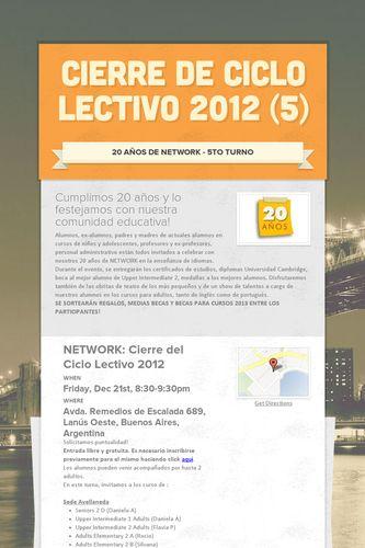 Cierre de Ciclo Lectivo 2012 (5)