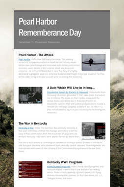 Pearl Harbor Rememberance Day