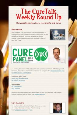 The CureTalk Weekly Round Up
