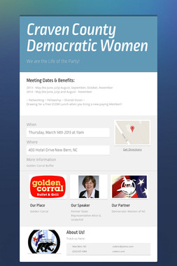 Craven County Democratic Women