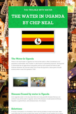 THE WATER IN UGANDA BY CHIP NEAL