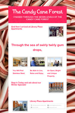 The Candy Cane Forest