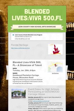 Blended Lives:Viva 500,FL