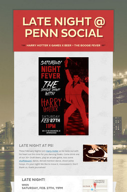 Late Night @ Penn Social