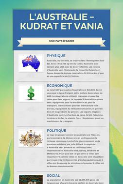 L'Australie - Kudrat et Vania
