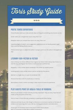 Toris Study Guide