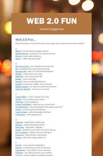 Web 2.0 Fun
