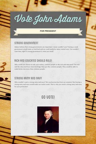 Vote John Adams