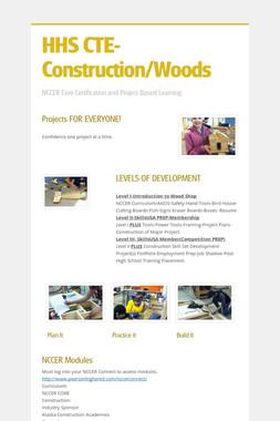 HHS CTE-Construction/Woods