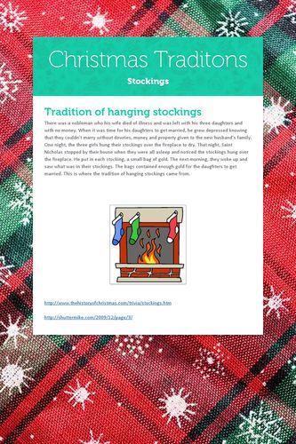 Christmas Traditons
