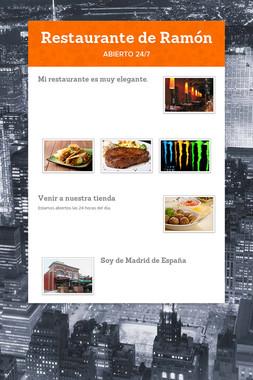 Restaurante de Ramón