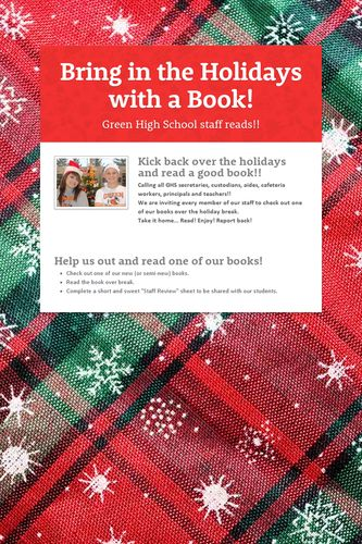 Bring in the Holidays with a Book!
