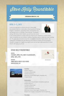 Steve Kelly Roundtable