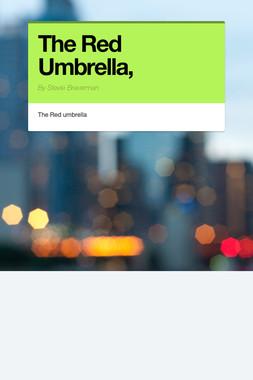 The Red Umbrella,