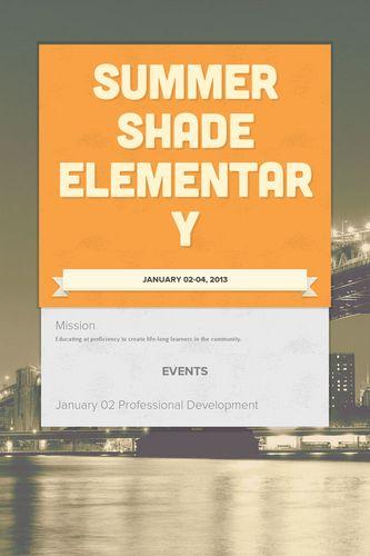 Summer Shade Elementary
