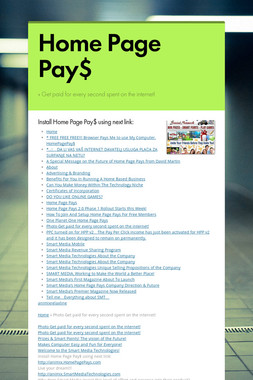 Home Page Pay$