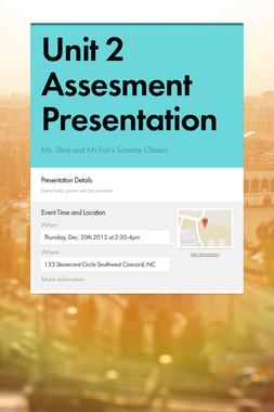 Unit 2 Assesment Presentation