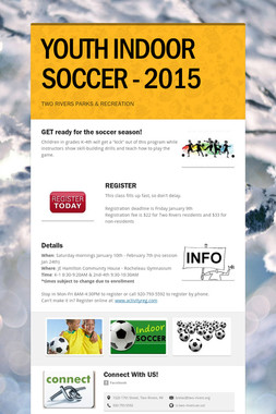 YOUTH INDOOR SOCCER - 2015