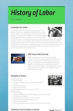 History of Labor