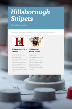 Hillsborough Snipets