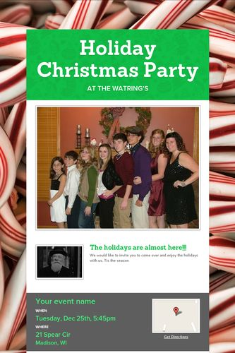 Holiday Christmas Party