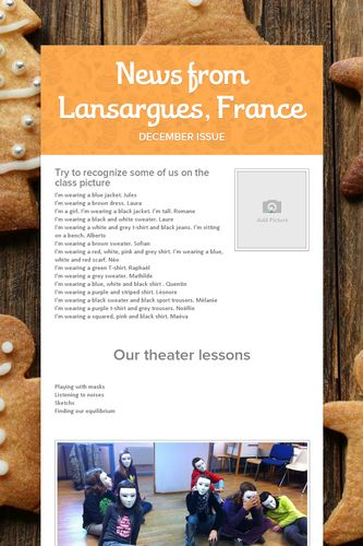 News from Lansargues, France