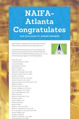 NAIFA-Atlanta Congratulates