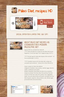 Paleo Diet recipes HD