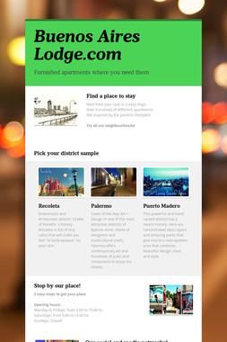 Buenos Aires Lodge.com