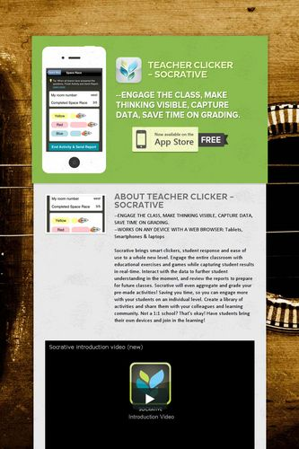 Teacher Clicker - Socrative
