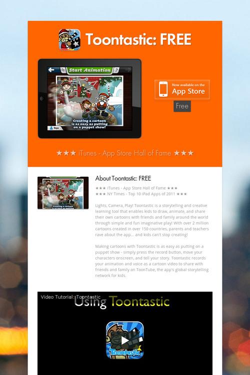 toontastic  free