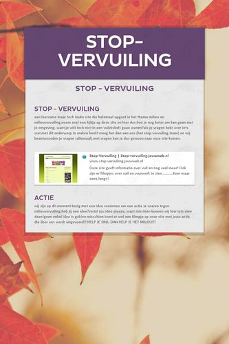 stop-vervuiling