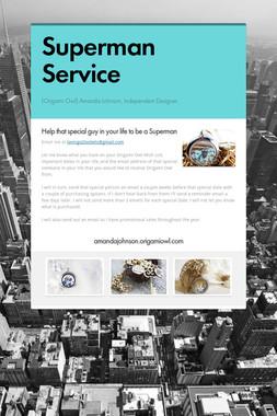Superman Service