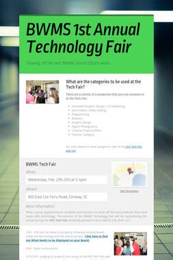 BWMS 1st Annual Technology Fair