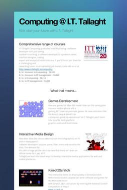 Computing @ I.T. Tallaght