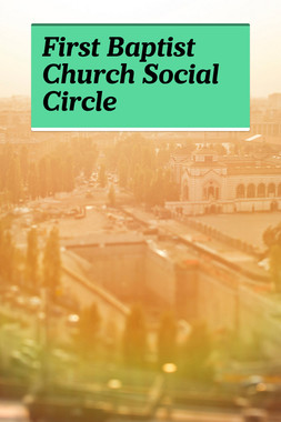 First Baptist Church Social Circle