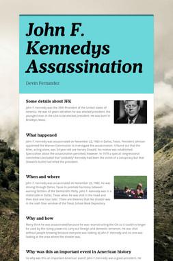 John F. Kennedys Assassination