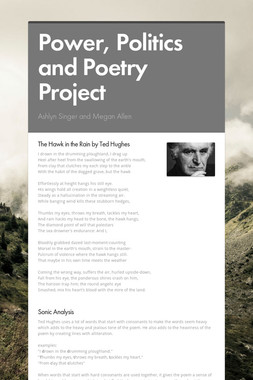 Power, Politics and Poetry Project