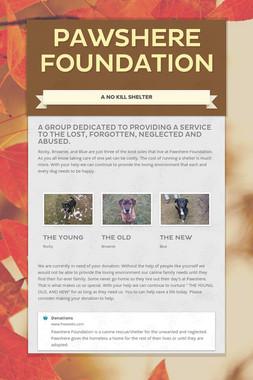 Pawshere Foundation