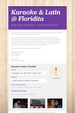 Karaoke & Latin @ Floridita
