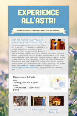 Experience All'asta!
