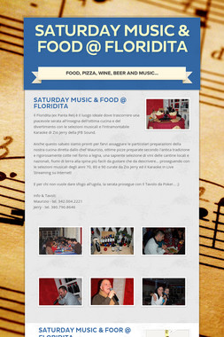 Saturday Music & Food @ Floridita
