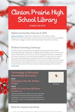 Clinton Prairie High School Library