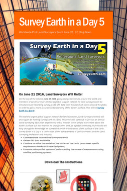 Survey Earth in a Day 5