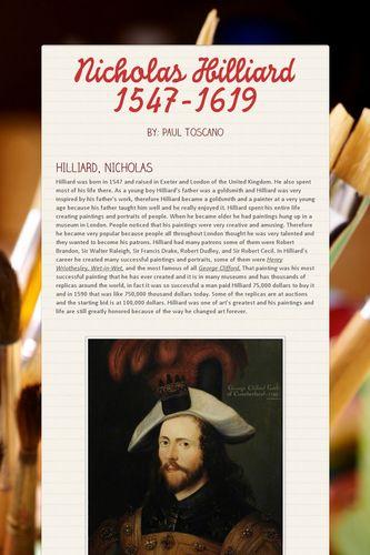 Nicholas Hilliard 1547-1619