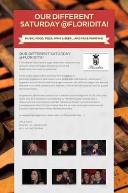 Our Different Saturday @Floridita!